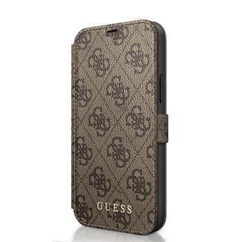 Калъф от Guess 4G Book Case за iPhone 12 mini 5.4 Brown