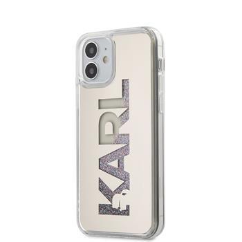 Калъф от Karl Lagerfeld Liquid Glitter Multi Mirror Cover за iPhone 12 mini 5.4 Gold