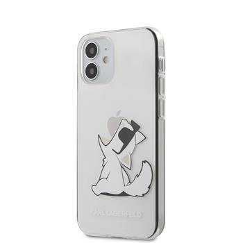 Калъф от Karl Lagerfeld PC/TPU Choupette Eat Cover за iPhone 12 mini 5.4 Transparent