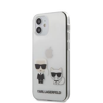 Калъф от Karl Lagerfeld PC/TPU Karl Choupette Cover за iPhone 12 mini 5.4 Transparent