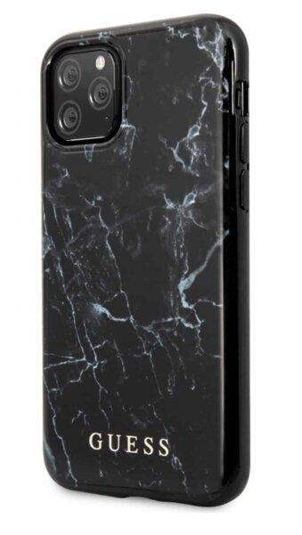 Калъф от Guess PC/TPU Marble Cover за iPhone 12 Pro Max 6.7 Black
