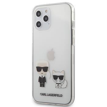 Калъф от Karl Lagerfeld PC/TPU Karl Choupette Cover за iPhone 12 Pro Max 6.7 Transparent