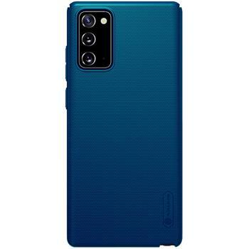 Калъф от Nillkin Super Frosted Back Cover за Samsung Galaxy Note 20 Peacock Blue