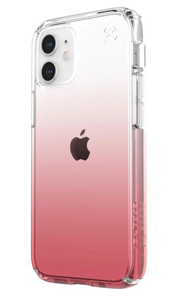 Калъф от Speck за iPhone 12 mini PRESIDIO PERFECT-CLEAR OMBRE - CLEAR/VINTAGE ROSE