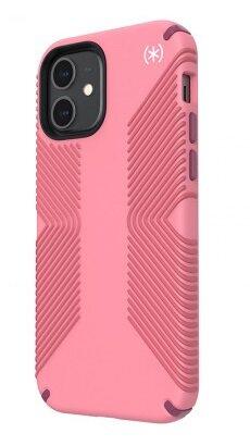 Калъф от Speck за iPhone 12 (Pro) PRESIDIO2 GRIP - VNTGE RS/RYL PK/LSH BDY/WHT