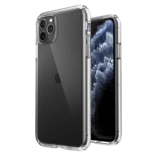 Калъф от Speck за iPhone 12 (Pro) PRESIDIO PERF-CLEAR W/GLITTER - CLEAR W/GOLD GLTR/CLR