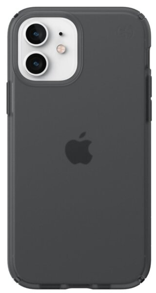 Калъф от Speck за iPhone 12 (Pro) PRESIDIO PERFECT-CLEAR + SOFT TOUCH - OBSIDIAN/OBSIDIAN