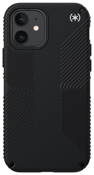 Калъф от Speck за iPhone 12 (Pro) PRESIDIO2 GRIP - BLACK/BLACK/WHITE