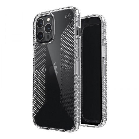 Калъф от Speck за iPhone 12 Pro Max PRESIDIO PERFECT-CLEAR GRIP - CLEAR/CLEAR