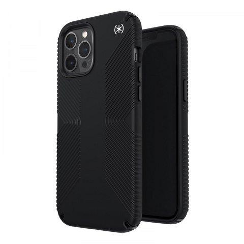 Калъф от Speck за iPhone 12 Pro Max PRESIDIO2 GRIP - BLACK/BLACK/WHITE