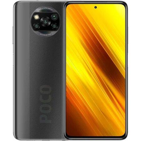 Смартфон Xiaomi Poco X3 NFC, Dual SIM, 128GB, 6GB RAM, Shadow Gray