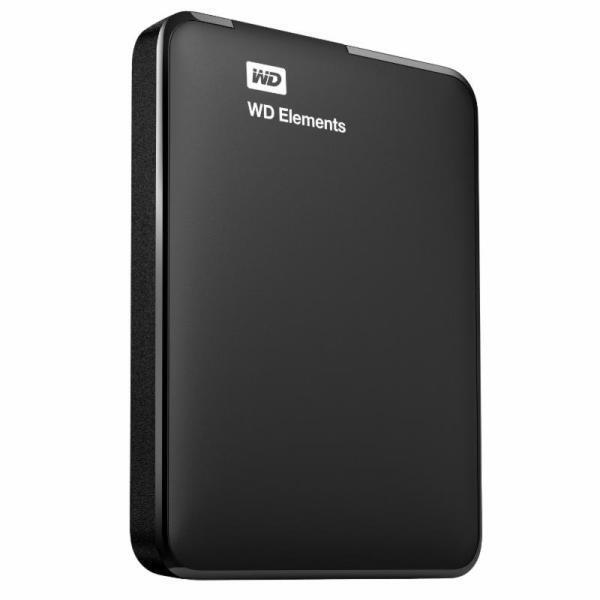 """Твърд диск, Western Digital Elements Portable 2.5"""" 1TB USB 3.0 Black"""