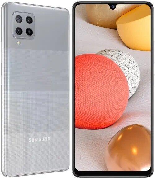 Смартфон Samsung Galaxy A42, Dual SIM, 5G, 128GB,4GB Ram, Gray