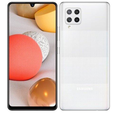 Смартфон Samsung Galaxy A42, Dual SIM, 5G, 128GB,4GB Ram, White