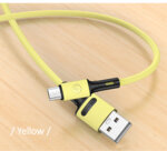 Дата Кабел USAMS SJ434 U52 Charging and Data Cable Lightning 1m Yellow