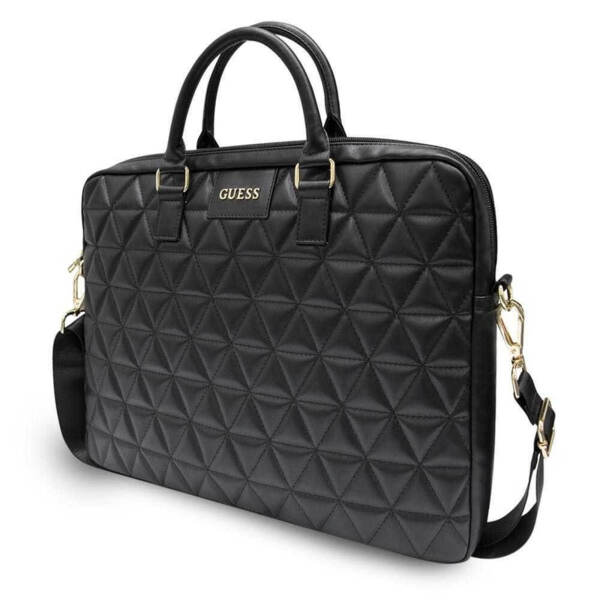 """Калъф Guess Quilted Bag for Notebook 15"""" Black"""