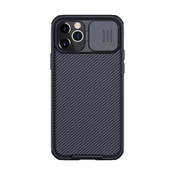 Калъф от Nillkin CamShield Pro Hard Case за iPhone 12/12 Pro - Black