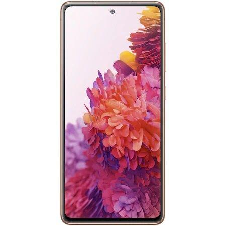 Смартфон Samsung Galaxy S20 FE, Dual SIM, 128GB, 6GB RAM, 4G, Cloud Orange