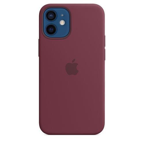 Силиконов Калъф от Apple за iPhone 12 mini с MagSafe - Plum (Seasonal Fall 2020)