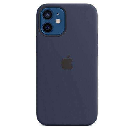 Силиконов Калъф от Apple за iPhone 12 mini с MagSafe - Deep Navy