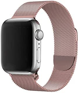 Метална кайшка Tactical 349 Loop Magnetic Stainless Steel Band за Apple iWatch 1/2/3/4/5/6/SE 38/40mm - Rose