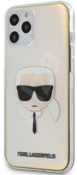 Силиконов Калъф от Karl Lagerfeld  Head pro за Apple iPhone 12 Pro Max - Iridescent