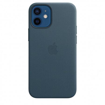 Кожен Калъф от Apple за iPhone 12 mini с MagSafe - Baltic Blue (Seasonal Fall 2020)