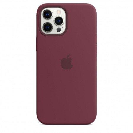 Силиконов Калъф от Apple за iPhone 12 Pro Max с MagSafe - Plum (Seasonal Fall 2020)