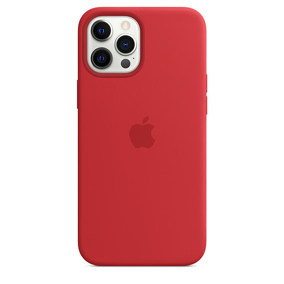 Силиконов Калъф от Apple за iPhone 12 Pro Max с MagSafe - (PRODUCT)RED
