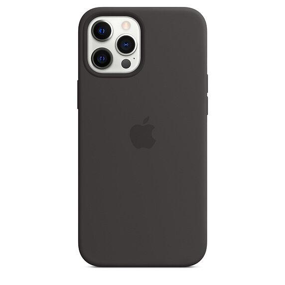 Силиконов Калъф от Apple за iPhone 12 Pro Max с MagSafe - Black