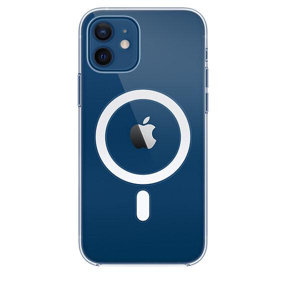 Силиконов Калъф от Apple за iPhone 12/12 Pro с MagSafe - Clear