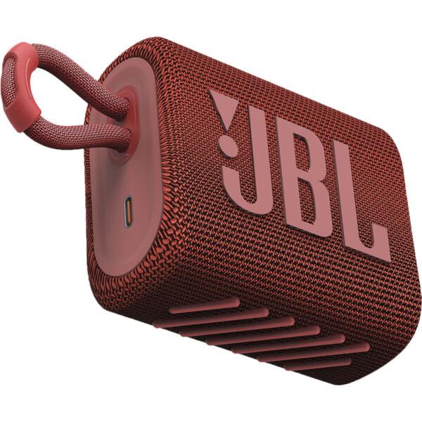 Тонколони - JBL GO 3 RED Portable Waterproof Speaker
