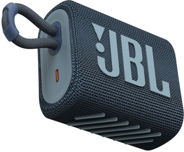 Тонколони - JBL GO 3 BLU Portable Waterproof Speaker