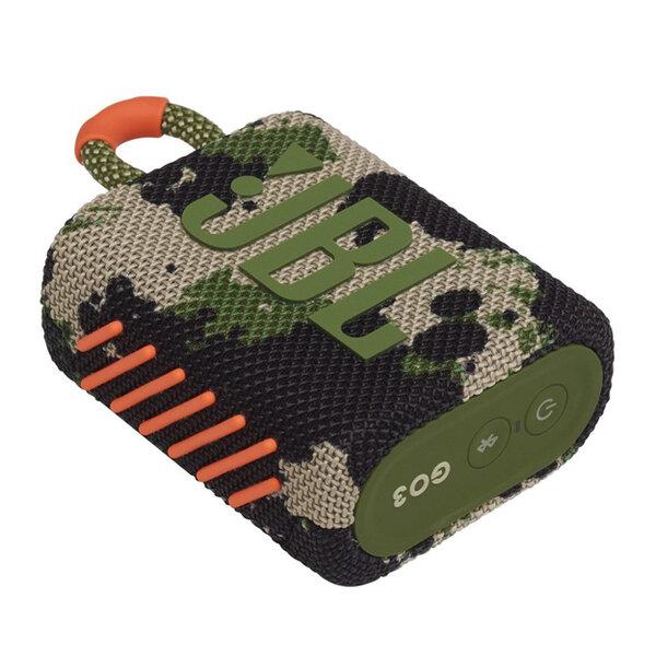 Тонколони - JBL GO 3 SQUAD Portable Waterproof Speaker