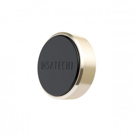 Стойка за кола Satechi Aluminium Magnet Sticker Mount - Gold