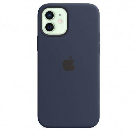 Силиконов Калъф от Apple за iPhone 12/12 Pro с MagSafe - Deep Navy