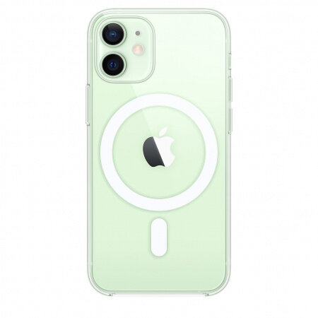 Силиконов Калъф от Apple за iPhone 12 mini с MagSafe - Clear