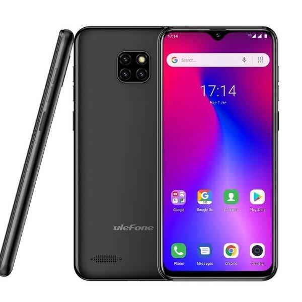 Смартфон Ulefone Note 7, 16GB, 1GB Ram, Black/Черен