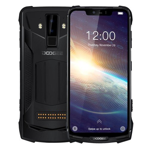 Смартфон Dodgee S90 Pro, Dual Sim, 128GB, 6GB RAM, Mineral Black