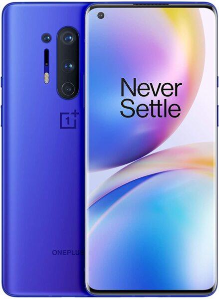 Смартфон OnePlus 8 Pro, Dual SIM, 256GB, 12GB RAM, Ultramarine Blue