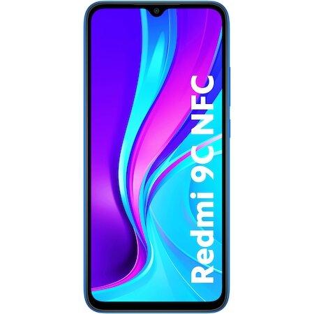 Син Смартфон Xiaomi Redmi 9C, Dual SIM, 2GB, 32GB Blue