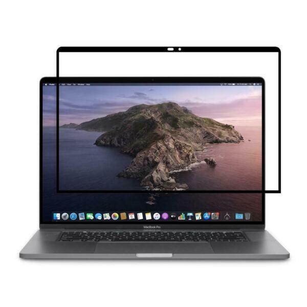 Черен протектор Moshi iVisor MacBook Pro 16inch Anti-glare Screen Protector - Black