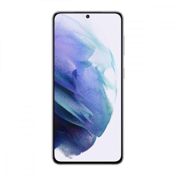 Смартфон Бял Samsung Galaxy S21, Dual SIM, 128GB, 8GB RAM, Phantom White