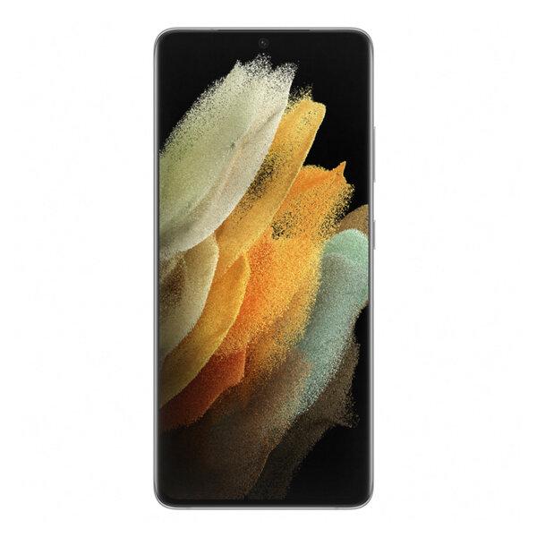 Смартфон Сребрист Samsung Galaxy S21 Ultra, Dual SIM, 128GB, 12GB RAM, Phantom Silver