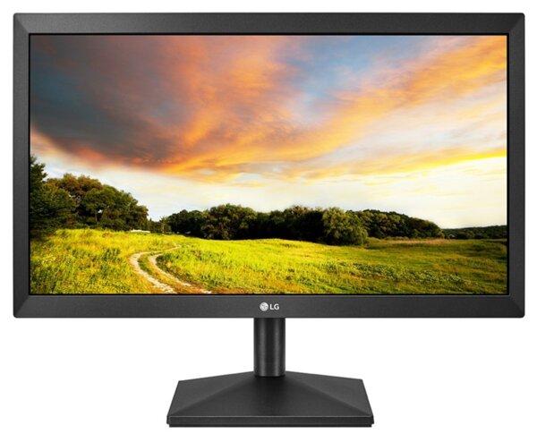 """Монитор LG 20MK400H-B - 19.5"""", 1366 x 768, черен"""