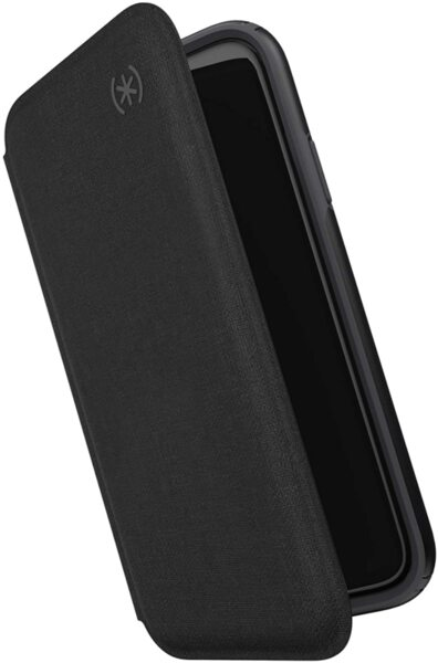 Калъф от Speck за iPhone 11 PRESIDIO FOLIO (HEATHERED BLACK/BLACK/SLATE GREY)