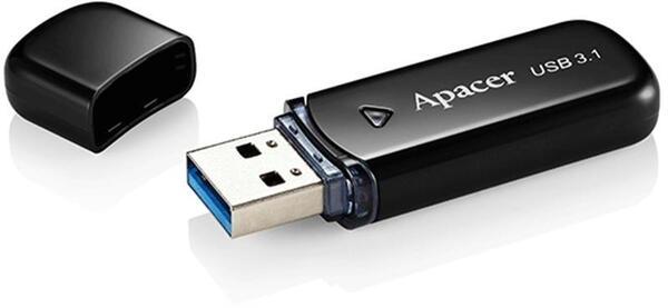 Памет, Apacer 16GB AH355 Black - USB 3.1 Flash Drive