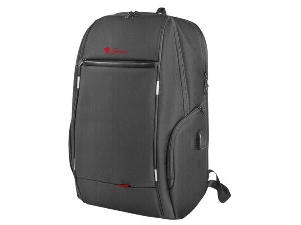 """Раница, Genesis Laptop Backpack Pallad 400 Usb Black 15,6"""""""