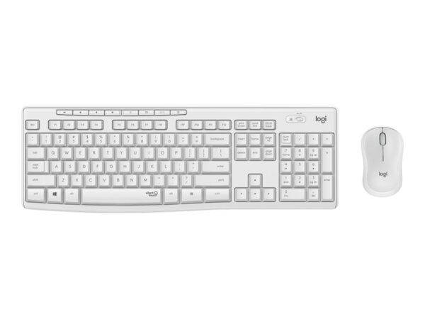 Комплект, Logitech MK295 Silent Wireless Combo - OFF WHITE - US INTL - 2.4GHZ - INTNL