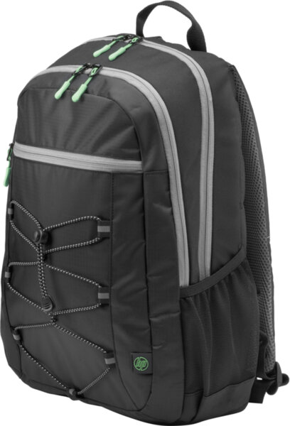 """Раница, HP 15.6"""" Active Backpack (Black/Mint Green)"""